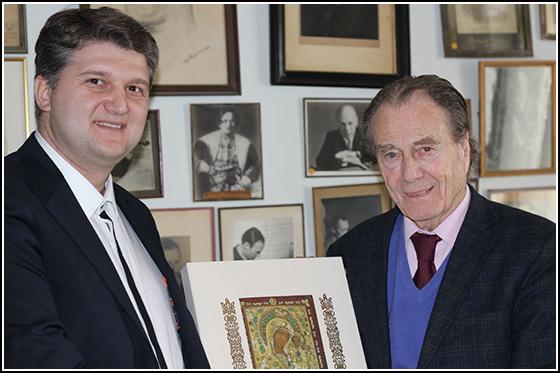 Презентация книги о Казанской иконе графу Петру Петровичу Шереметьеву