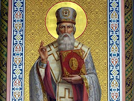 Святитель Варсонофий епископ Тверской, Казанский чудотворец (1576)