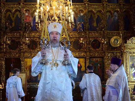 В день Преображения Господня глава митрополии совершил праздничные богослужения