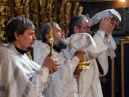 Миссионерское богослужение в Набережных Челнах
