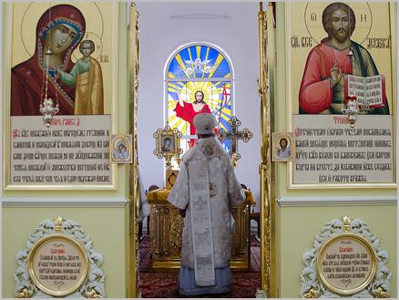 Митрополит Анастасий посетил Мензелинск