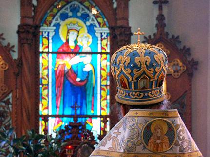 Архиерейское служение в день Рождества Богородицы