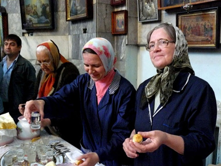 Хозяюшки Дома Господня – работницы  в храме