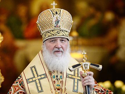 За пять лет первосвятительства Патриарх Кирилл совершил 1132 богослужения