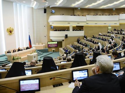 Митрополит Анастасий принял участие в Рождественских встречах в Совете Федерации