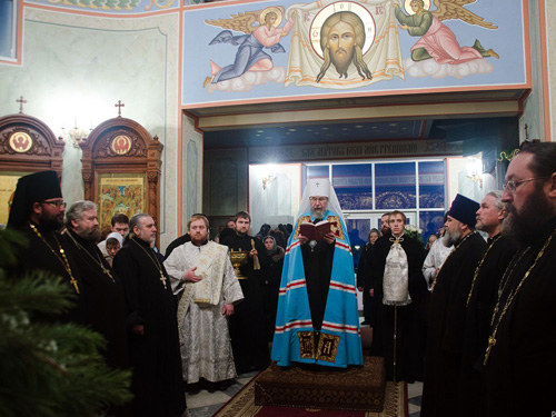 Митрополит Анастасий посетил Набережные Челны