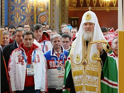 Языческие корни Олимпийских Игр не имеют под собой основы для критики, — Патриарх Кирилл