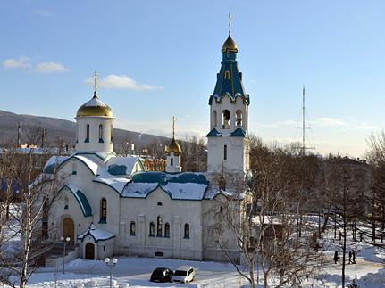 В Южно-Сахалинском храме была открыта стрельба