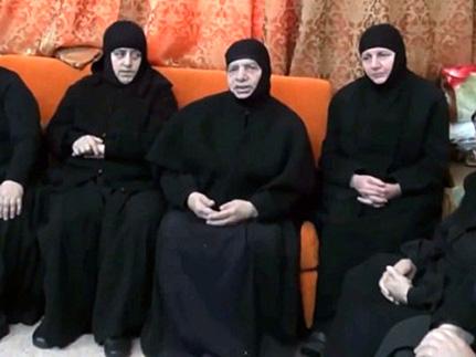 Сирийские монахини-заложницы на свободе