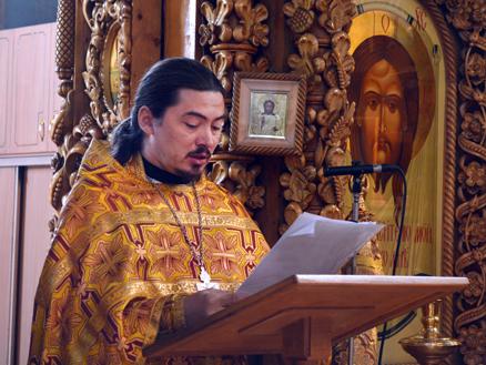 Молитва о мире в Боровецкой церкви